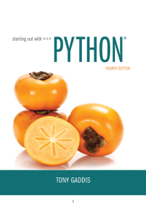 Gaddis, Tony - Starting out with Python-Pearson (2017)