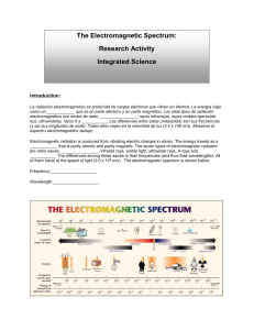 Electromagnetic Spectrum Research Activity C12-2-01.doc