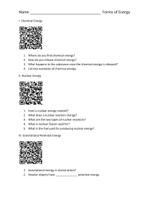 Forms of Energy QR