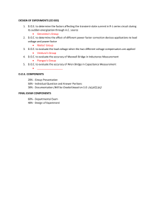 EE 003 DOE TOPICS AND COMPONENTS - EC41FA1