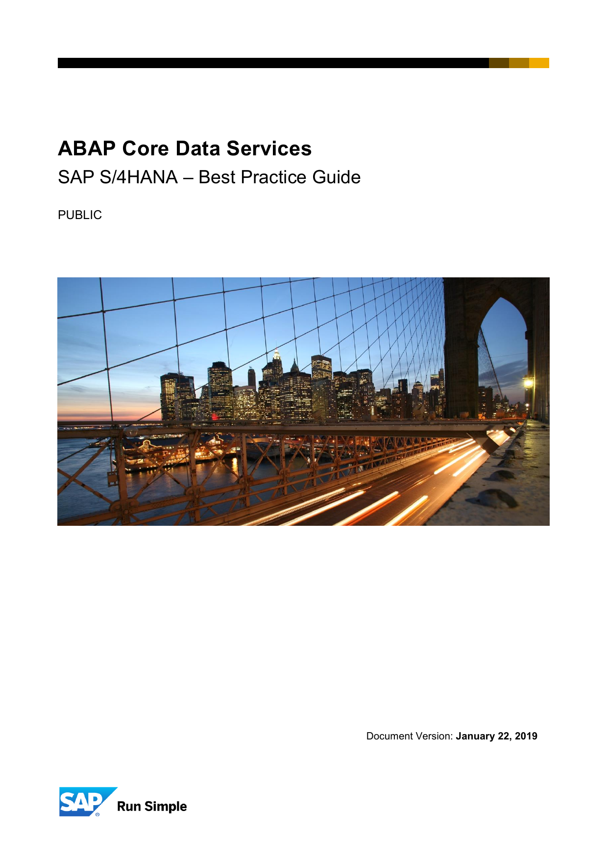 ABAP CDS Best Practice Guide
