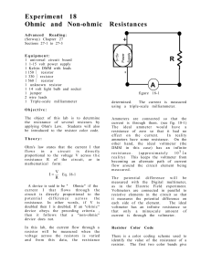 Exp18 ohms law manual