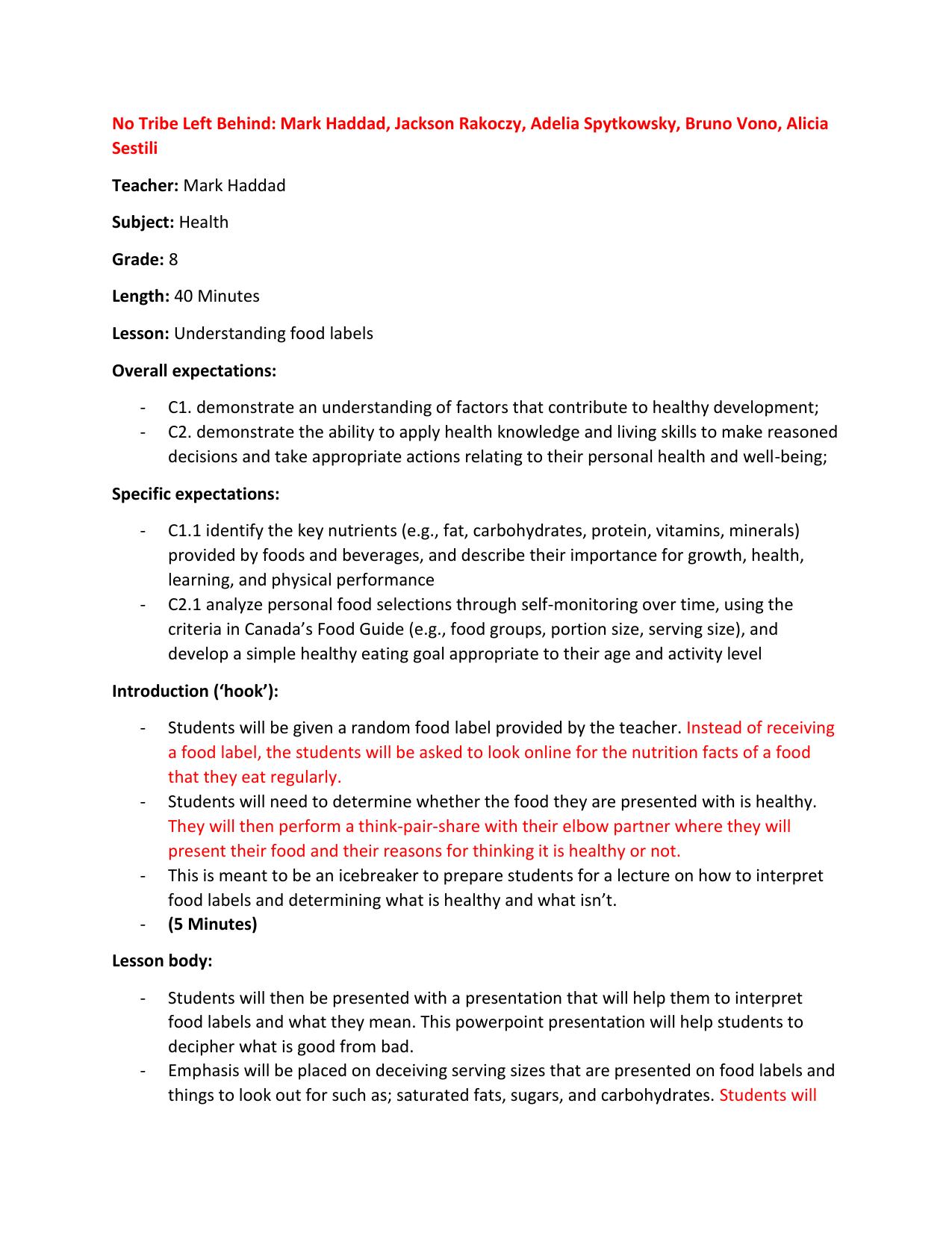 Week 5 Grade 7 Lesson Plan [ 1651 x 1275 Pixel ]