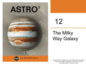 ASTRO3 Milky way
