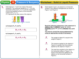 Pressure worksheet - Answer key-1