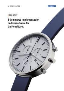 Priocept Case Study Uniform Wares Demandware