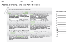 Chemistry WS - Review Ch4L1