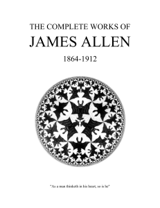 James Allen All Books