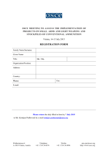 FSC.DEL 0101 15 - Registration Form