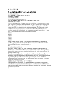 Combinatorial Analysis