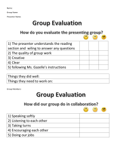 GroupWorkEvaluation