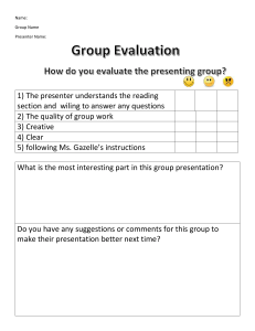 GroupWorkEvaluation form