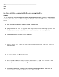 Atoms in Motion App activity--Intro/Adv/AP chem