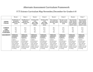 6-8 Science curriculum map 2018-2019