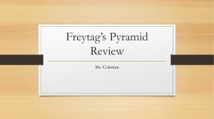 Freytag's Pyramid Review
