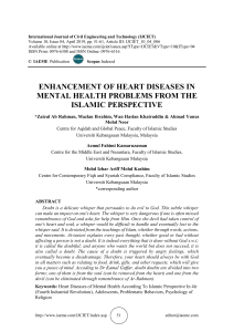 ENHANCEMENT OF HEART DISEASES IN MENTAL HEALTH PROBLEMS FROM THE ISLAMIC PERSPECTIVE