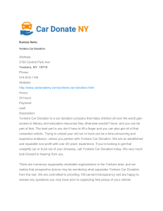 Yonkers Car Donation