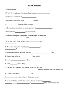 Bill Nye Worksheet  forensics