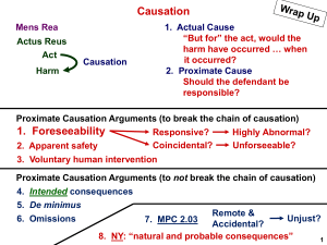 Study Slide - Causation - MPC and NYPL