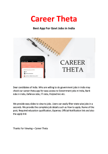 Best App For Govt Jobs in India
