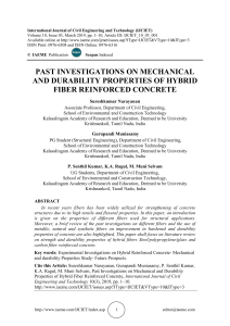 PAST INVESTIGATIONS ON MECHANICAL AND DURABILITY PROPERTIES OF HYBRID FIBER REINFORCED CONCRETE