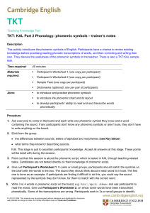 CambridgeEng,part-2-phonology-phonemic-symbols