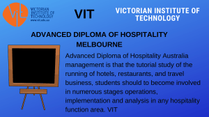 ADVANCED DIPLOMA HOSPITALITY MELBOURNE