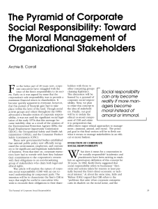 Corporate social responsibility moral management and organizational stakeholders-main