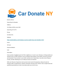 Oyster Bay Car Donation