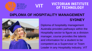 diploma of hospitality management Sydney