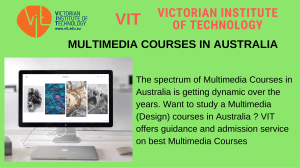 Multimedia Courses in Australia