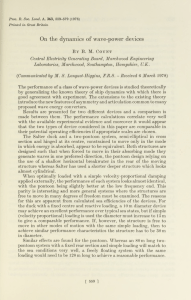 B.M. Count. On the dynamics of wave-power devices. Proceedings of the Royal Society of London. a 363. 1978, pp. 559-578