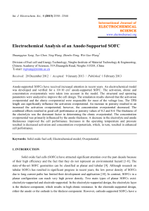 P7-拱形多图大致过程包含-Electrochemical Analysis of an Anode-Supported SOFC