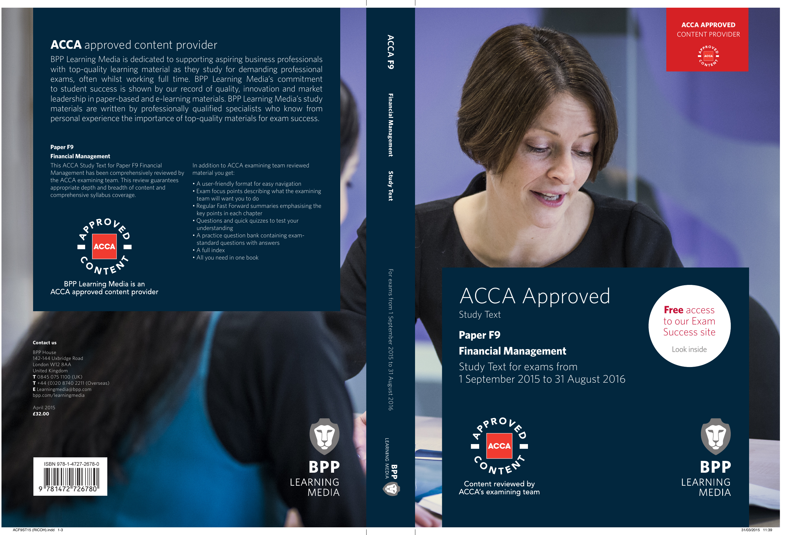 ACCA F9 - Financial Management Study Text (2016)