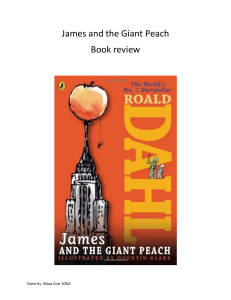 James and the Giant Peach book review
