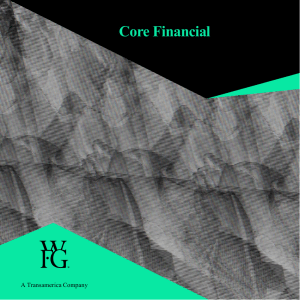 WFG Core Financial Concepts