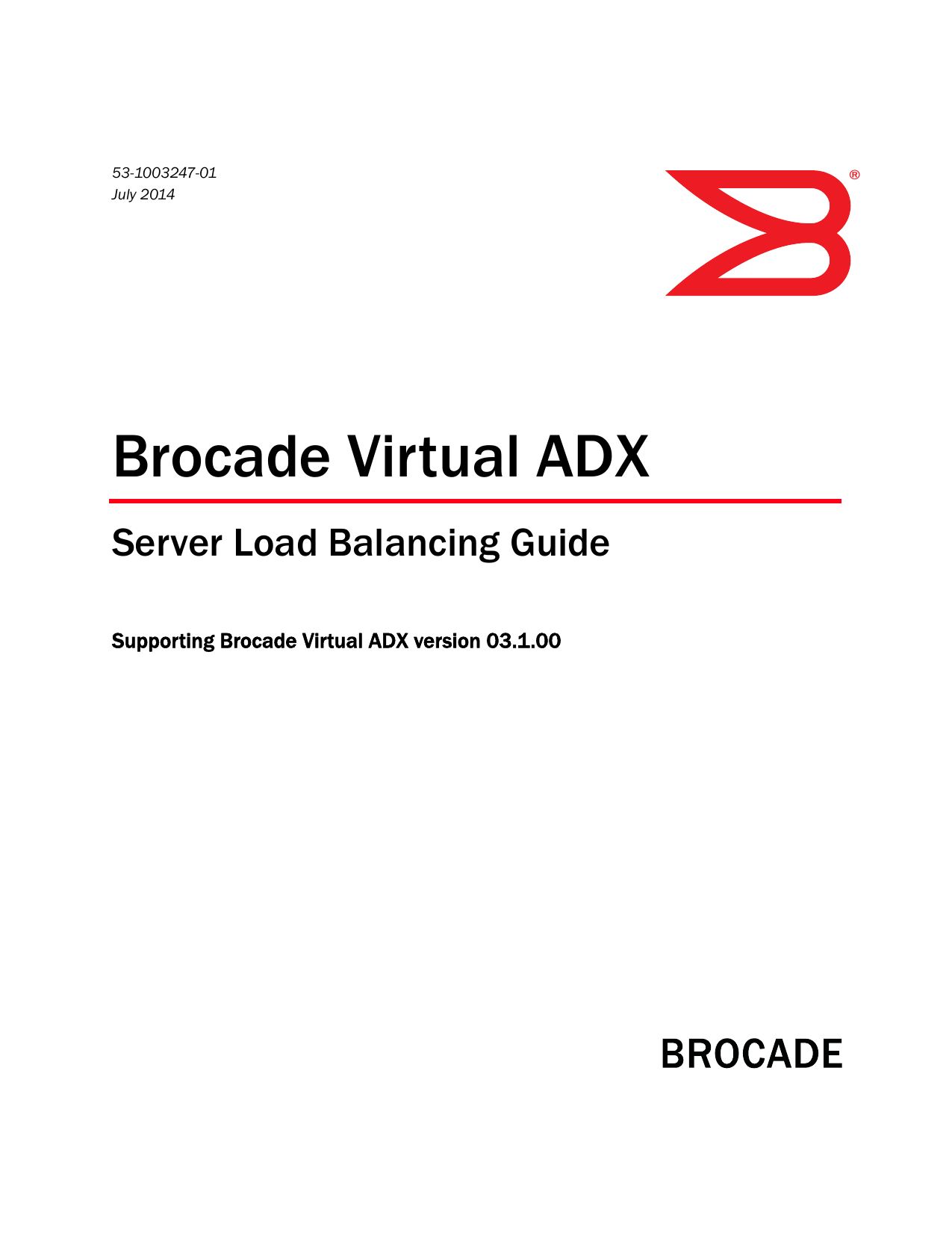 brocade virtual ADX