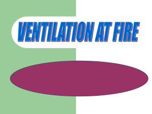 VENTILATION AT FIRE