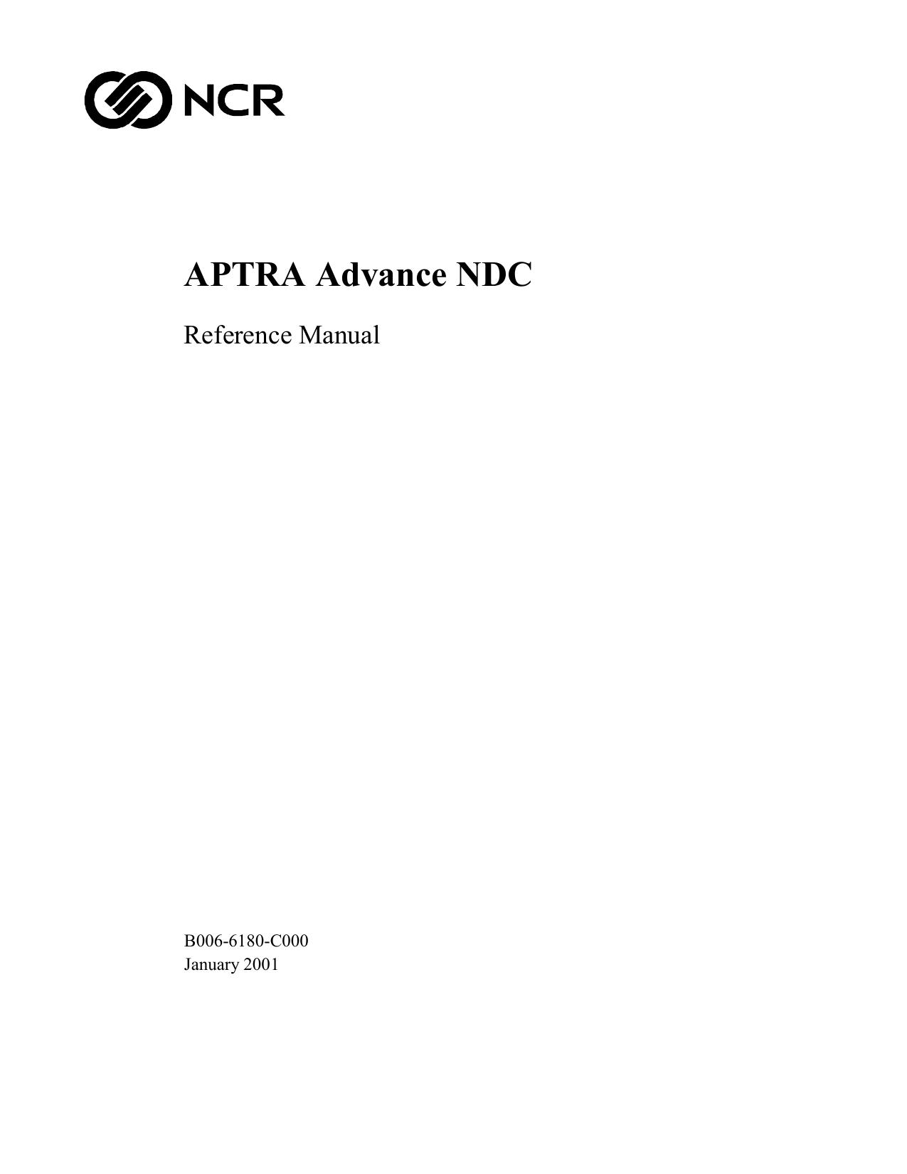 Advance NDC Reference Manual