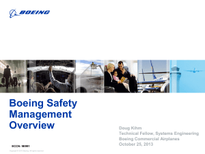 Boeing Safety Management Overview