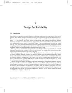 Practical Reliability Engineering OConno