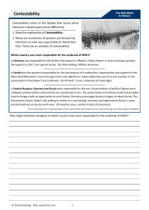 Contestability worksheet 2014