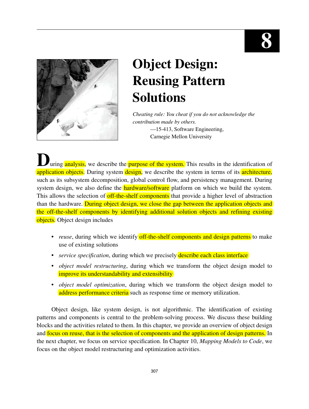 Chapter8 Object Design Reusing Pattern Solutions