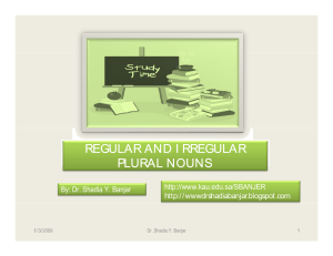 9700760-Regular-and-Irregular-Plural-Nouns