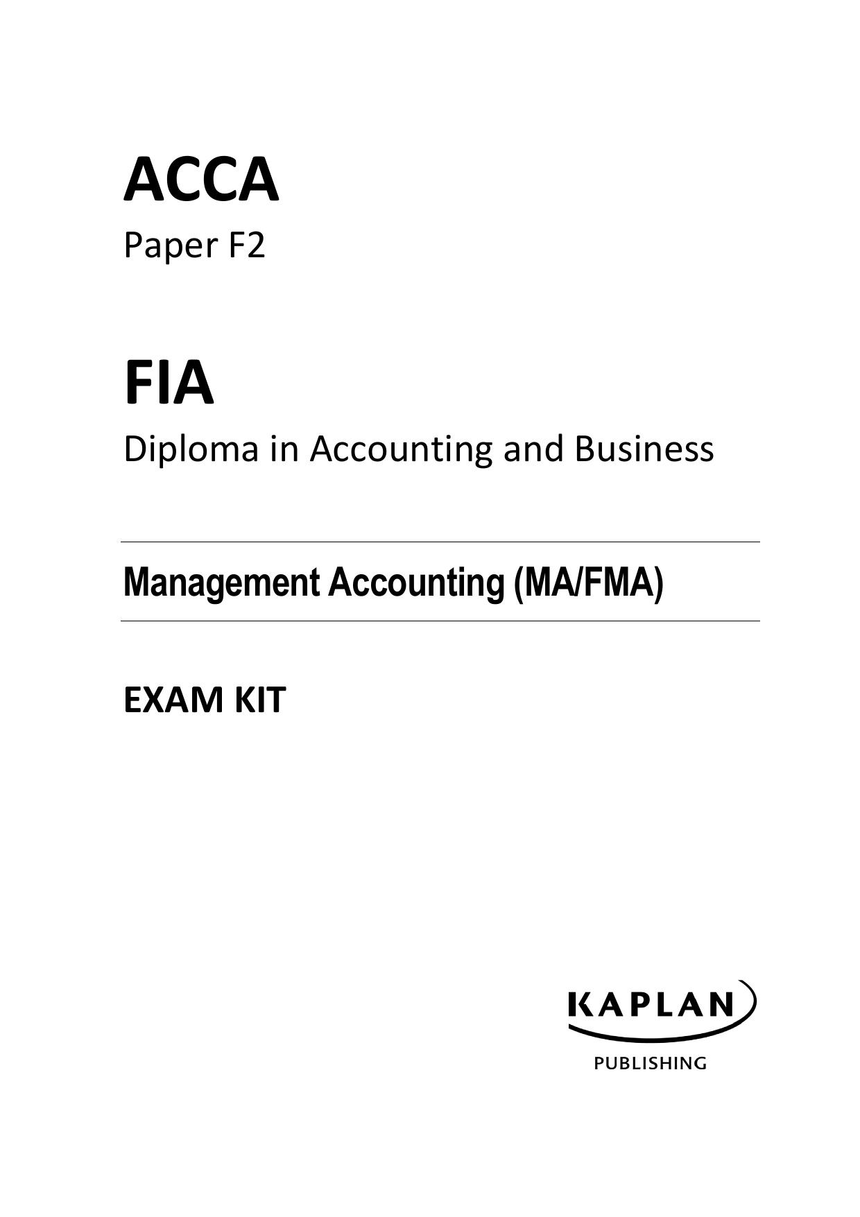 ACCA-F2-answ