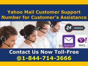 Yahoo Mail Customer Support Number for Customer's Assistance  1-844-714-3666