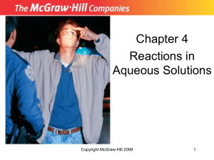 Chemistry - Burge, Julia - McGraw Hill Chapter 4  Study Guid