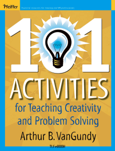 Creativity And Problem Solving  Activities