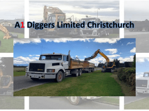 A1 Diggers Limited Christchurch