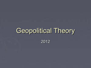 geopoliticaltheory